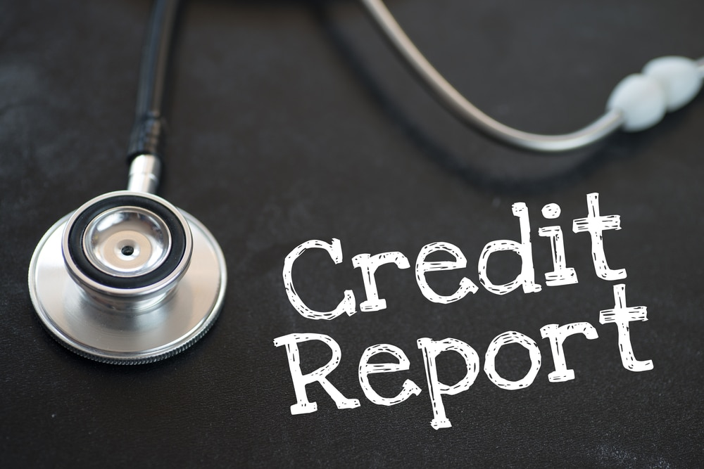 clean up your credit report